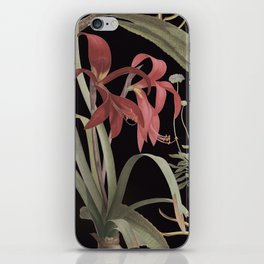 Dark Botanicals (pillow variant) iPhone Skin
