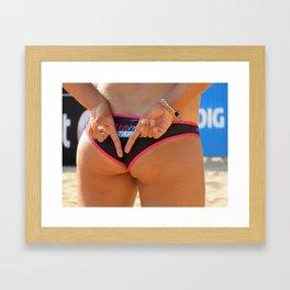 Bikini Framed Art Print