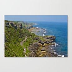 伊江島 Iejima Coastline Canvas Print