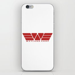 Weyland Corp - Red iPhone Skin