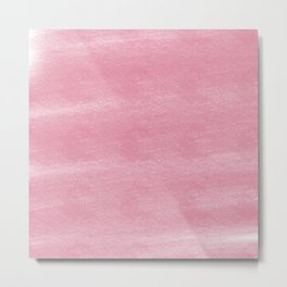 Chalky background - vintage pink Metal Print