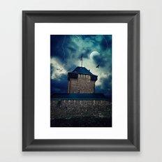 Castle Burg Framed Art Print