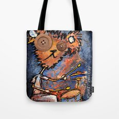 POWER CRAZED RHYTHMIC WAYS Tote Bag