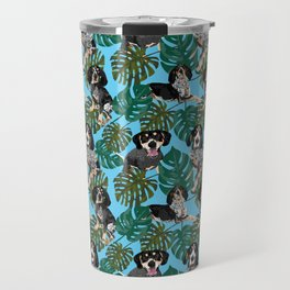 Tropical Bluetick Coonhounds Travel Mug