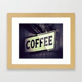 Coffee Shop Framed Art Print