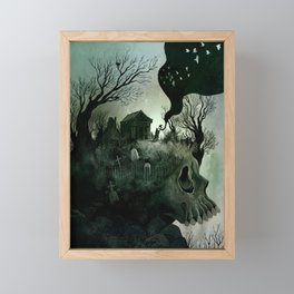 The Forgetting Place Framed Mini Art Print