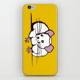Fat mouse iPhone Skin