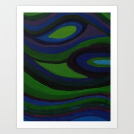 River of Emotions Canvas Two Art Print