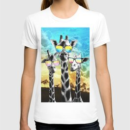 Crazy Cool Giraffe T-shirt