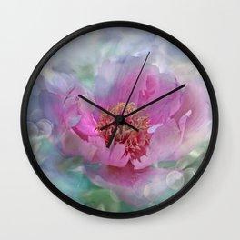 peony love N°7 Wall Clock