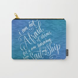 Sail My Ship Carry-All Pouch