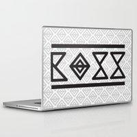 boss Laptop & iPad Skins featuring BOSS by SoulDeep