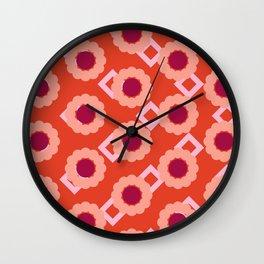 diamondcircle05_02 Wall Clock