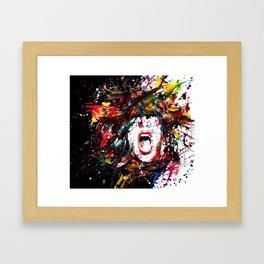 A Bug Free Mind Framed Art Print