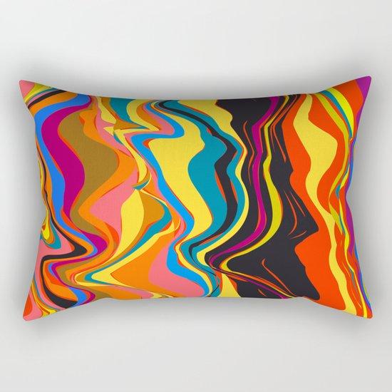 African Heat Rectangular Pillow