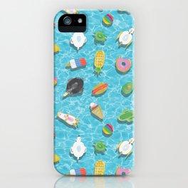 Pool floaties iPhone Case