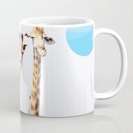 Giraffe with sky polka dots #society6 Coffee Mug