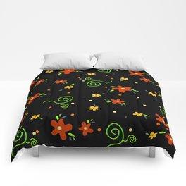 Giulia's Flowers Comforters