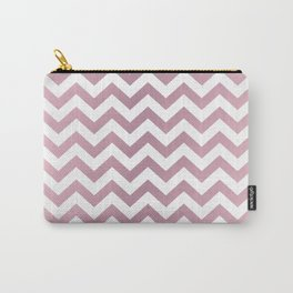 PINKY SHADE CHEVRON Carry-All Pouch
