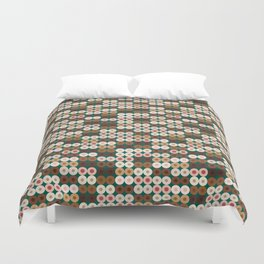 Breast Wishes (green) Duvet Cover