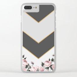 Always beautiful roses Clear iPhone Case