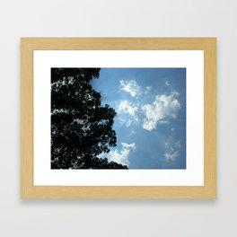 Luminescent Clouds Framed Art Print