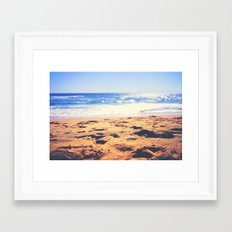 Happy :) Framed Art Print