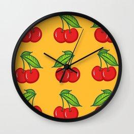Cherry Cherry Baby Wall Clock