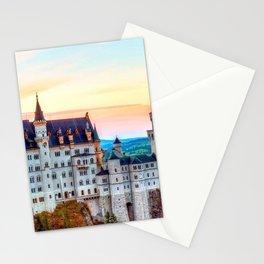 Wonderfully Romantic Fairytale Neuschwanstein Castle Hohenschwangau Bavaria Germany Europe Ultra HD Stationery Cards