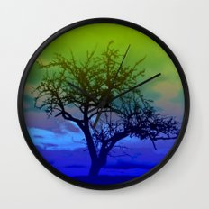 Wild colored Nature 09 Wall Clock