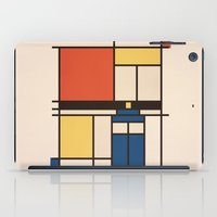 mondrian iPad Cases featuring Mondrian Who by Perdita