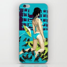 When the Crows  iPhone Skin