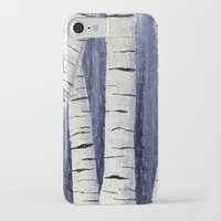 birch iPhone & iPod Cases featuring Birch by Sarah Yee