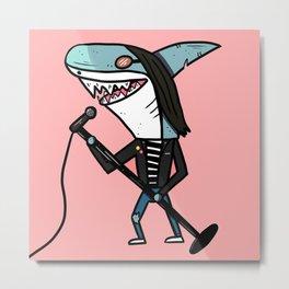 Joey Shark Metal Print