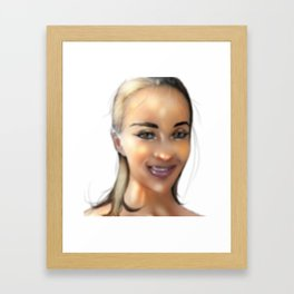 cn Framed Art Print