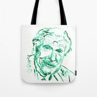 carl sagan Tote Bags featuring Carl Jung by echoes
