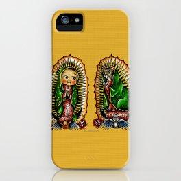 Kewpie and Cat Guadalupanos iPhone Case