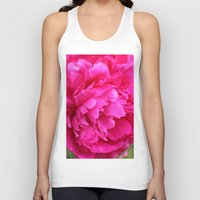 peony Tank Tops featuring Peony by Stecker Photographie