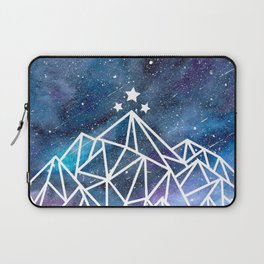Watercolor galaxy Night Court - ACOTAR inspired Laptop Sleeve