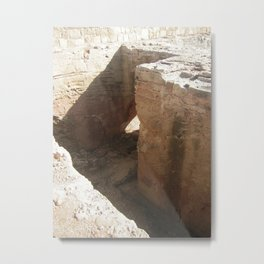 Color Travel Art Rock and a hard place #1 Metal Print