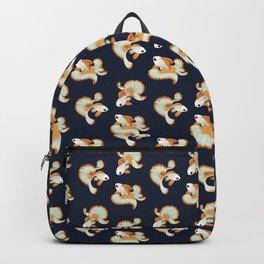Three tosakin goldfish Backpack