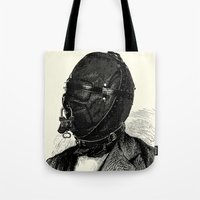 bdsm Tote Bags featuring BDSM XI by DIVIDUS