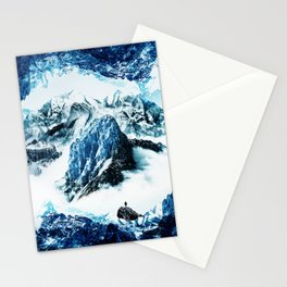 Frozen isolation Stationery Cards