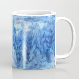 Magical winter forest Coffee Mug