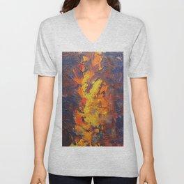 Abstract16 Unisex V-Neck