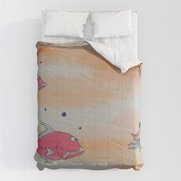 """""""Big Pink"""" Comforters"""