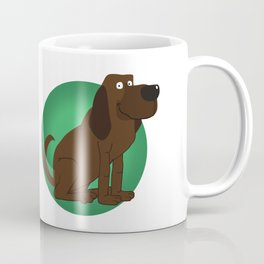 Bloodhound Illustration Coffee Mug