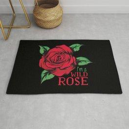 I'm A Wild Rose Rug