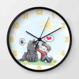 SmushyFace Wall Clock