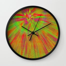 Wholehearted colors ... Wall Clock
